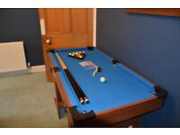 Pool table (folding)