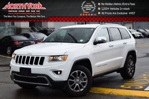 2016 Jeep Grand Cherokee Limited 4x4|Nav|Leather|Blind Spot|HTD