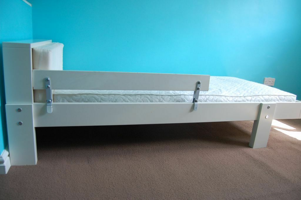 IKEA VIKARE Toddler Extendable Bed Frame Amp Guard Rail