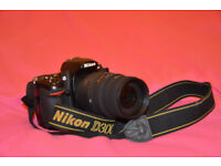 Nikon CAMERA D300 with 70-300mm SIGMA LENS