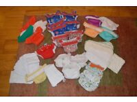 Re-usable nappies pre-loved bundle