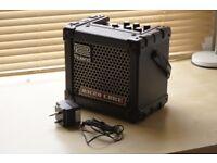 Portable Roland Microcube Amp/ Speaker, Battery or DC