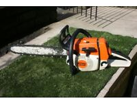 Petrol chainsaw Stihl MS260 professional chainsaw