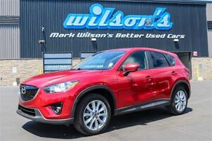 2015 Mazda CX-5 GT LEATHER! SUNROOF! HEATED SEATS! REAR CAMERA!