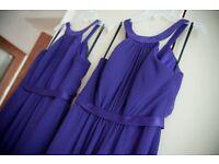 2 x Cadbury Purple Bridesmaid Dresses/ Prom Dresses for Sale