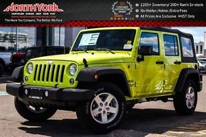 2016 Jeep WRANGLER UNLIMITED NEW Car Sport|4x4|Connectivity,Powe