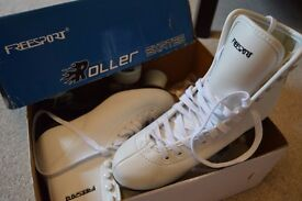 White roller skates | size 38 | brand new - barely worn