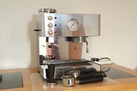 Isomac Brio Espresso Machine with grinder and extras