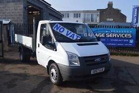 FORD TRANSIT FACTORY TIPPER 2,4 lwb *NO VAT* EXCELLENT CONDITION LOW MILES FULL YEARS MOT!!!!