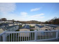 STATIC CARAVAN AT GOLDEN SANDS HOLIDAY PARK IN DAWLISH. FREE SITE FEES FOR 2017, AMAZING VIEWS!
