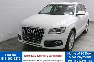 2015 Audi Q5 2.0T QUATTRO w/ NAVIGATION! LEATHER! PANORAMIC ROO