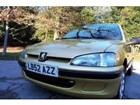 Fantastic Low mileage Peugeot 106 independence 1.1
