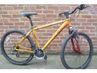 trek mountain bike 18'' frame size