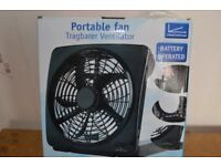 PORTABLE FAN. BATTERY OPERATED