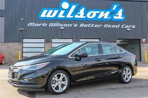 2017 Chevrolet Cruze $63/WK, 5.89% ZERO DOWN! PREMIER LEATHER! H
