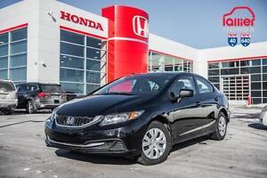 2014 Honda Civic DX BERLINE + GARANTIE 10ANS/200.000KM