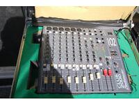 Studiomaster 102 mixing desk