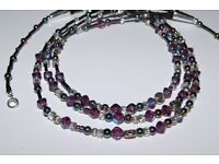 Handmade beaded necklace brand new
