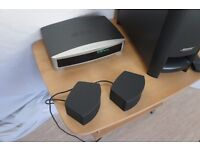 BOSE 3-2-1 GSX SERIES III BUILT IN HARD DRIVE DVD HOME CINEMA SOUND SYSTEM, HDMI CONNECTION