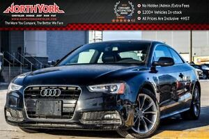 2016 Audi A5 Komfort Plus|Manual|Quattro|Leather|Nav|Sunroof|Cl