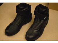 spada motorcycle boots