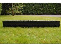 6 unused CrazyGadget Drain Channel Deep Drainage Plastic PVC Heavy Duty-£45