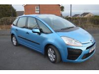 2007 CITROEN C4 PICASSO 1.6 HDI DIESEL FULL YEARS MOT