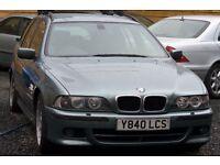 BMW 530D 2.9 Sport Touring Estate 5dr Diesel Automatic Green 2 KEYS