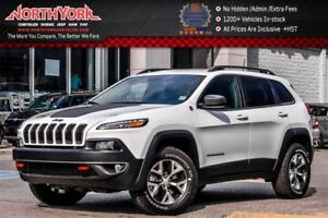 2017 Jeep Cherokee Trailhawk 4x4|Trailer Tow Pkg|Nav|Backup Cam|