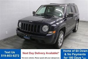 2011 Jeep Patriot 4WD NORTH! 5-SPEED w/ HEATED SEATS! ALLOYS! PO