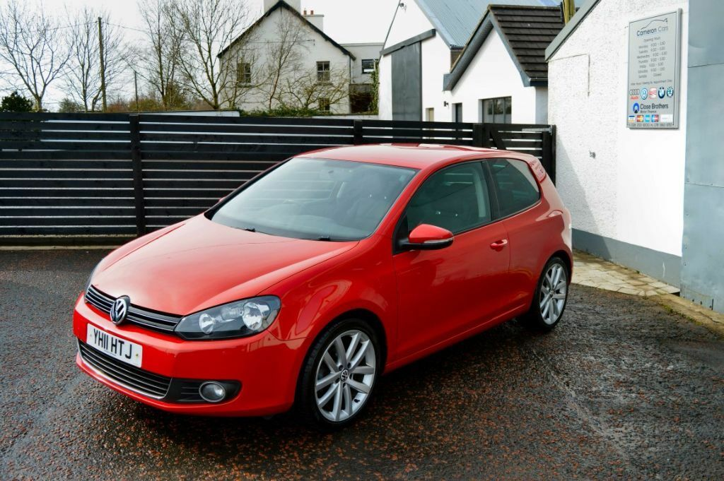 2011 vw golf gt tdi 140 3dr tornado red fsh 2 keys low rate finance available not a3 leon passat. Black Bedroom Furniture Sets. Home Design Ideas
