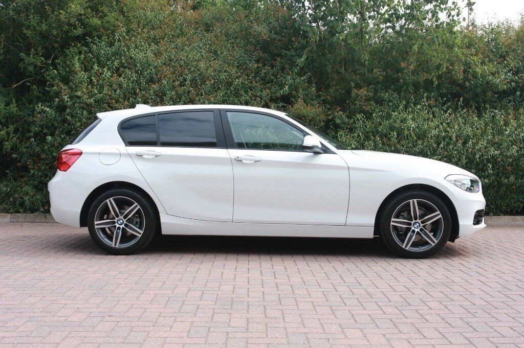 2017 67 bmw 118d sport in ice white only 8 months. Black Bedroom Furniture Sets. Home Design Ideas