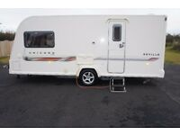 2011 BAILEY UNICORN SEVILLE 2-BERTH IMMACULATE CONDITION END BATHROOM LOOK VIDEO