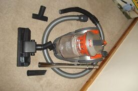 VAX vacuum cleaner with attachments
