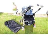 MAXI COSI LOOLA PUSHCHAIR (BLACK) WITH ACCESSORIES