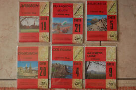 Ordnance Survey Maps - Collection of 26 maps - Excellent Condition