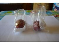 2 Hunts County Club Junior Cricket Balls