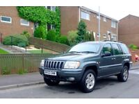 Jeep Grand Cherokee 2.7CRD 2003, Mot end Sept 18, ... 121k miles