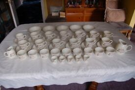 Royal Doulton 'Bredon Hill' China, 57 Items in 'As New' Condition