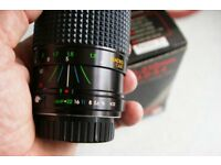 Pentax PK fitting film and digital Zoom lens