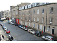 New Town, Barony street. Top floor 1 bedroomed central flat flat quietly located.