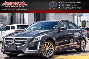 2014 Cadillac CTS Luxury AWD Pano_Sunroof Nav Leather BOSE 18All