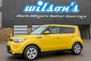 2016 Kia Soul LX $48/WK, 5.49% ZERO DOWN! KEYLESS ENTRY! BLUETOO