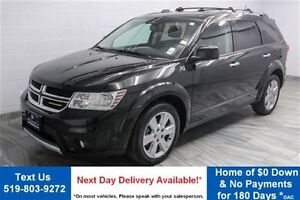 2013 Dodge Journey R/T AWD! LEATHER! ROOF! NAVIGATION! HEATED ST