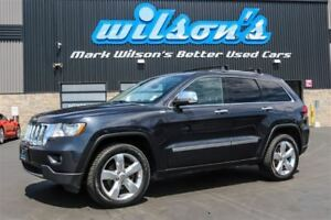 2013 Jeep Grand Cherokee OVERLAND LEATHER! NAV! SUNROOF! HEATED