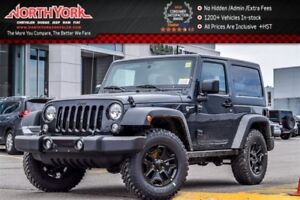 2017 Jeep Wrangler New Car Willys Wheeler 4x4|Dual Top|Bluetooth