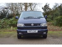 VW Caravelle Family People Carrier 1998 2.5TDI £4,850 Mileage 196k with removable bike rack