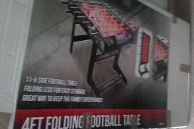 4ft folding football table