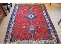 STUNNING PERSIAN SHIRAZ RUG 145 x 201 CM