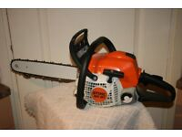 Stihl MS181 petrol chainsaw excellent condition